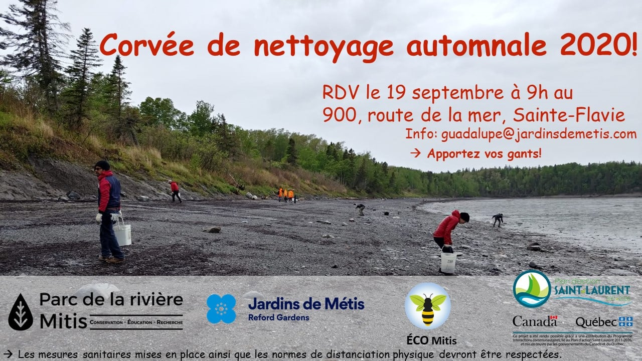 nettoyage berge 20 septembre 2020